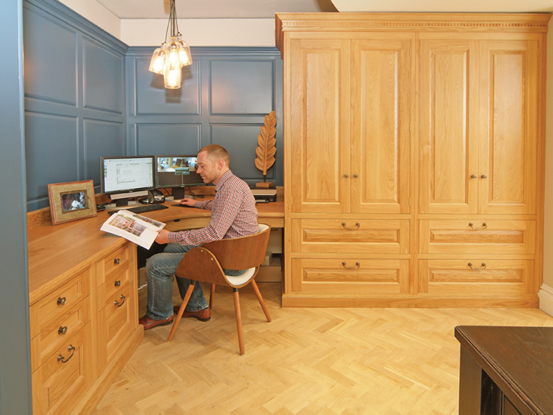 Bespoke office, study & media rooms