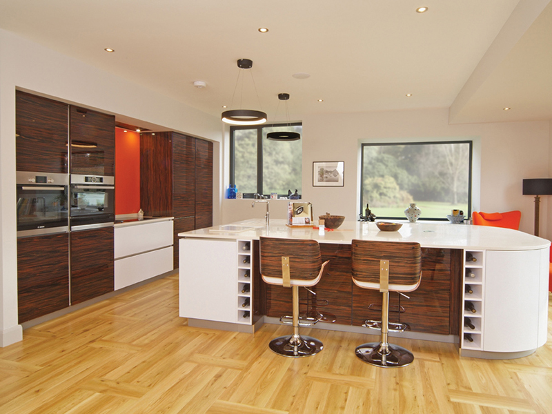 German engineered kitchens