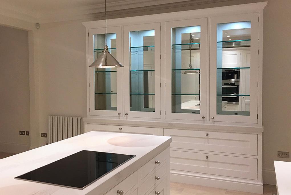Bespoke dresser in The Classic Braelea Shaker Kitchen style