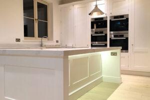 The Classic %22Braelea%22 Shaker Kitchen_ under lighting