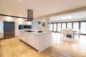 High gloss modern white kitchen3