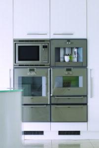 High quality Gaggenau kitchen appliances