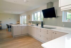Modern kitchen design Sheffield.