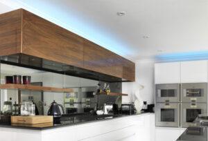 Stylish kitchen lighting in Sheffield.
