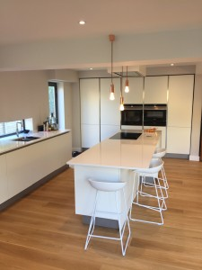 Modern kitchen in Sheffield.