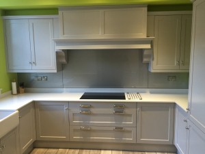 Painted bespoke kitchens in Sheffield.