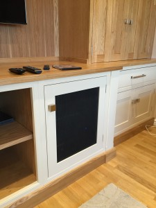 Speaker cabinet in Sheffield by Concept Interiors